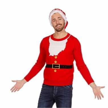 Heren Kersttrui Kopen.Kersttrui Kerstman Heren Foutekersttrui Lol Nl