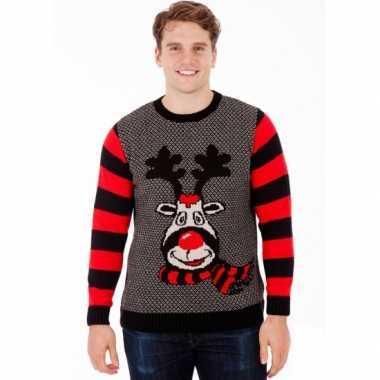 Kersttrui rudy reindeer heren