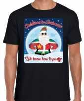 Fout kerst shirt christmas suriname zwart heren
