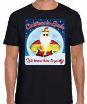 Fout spanje kerst shirt christmas spain zwart heren